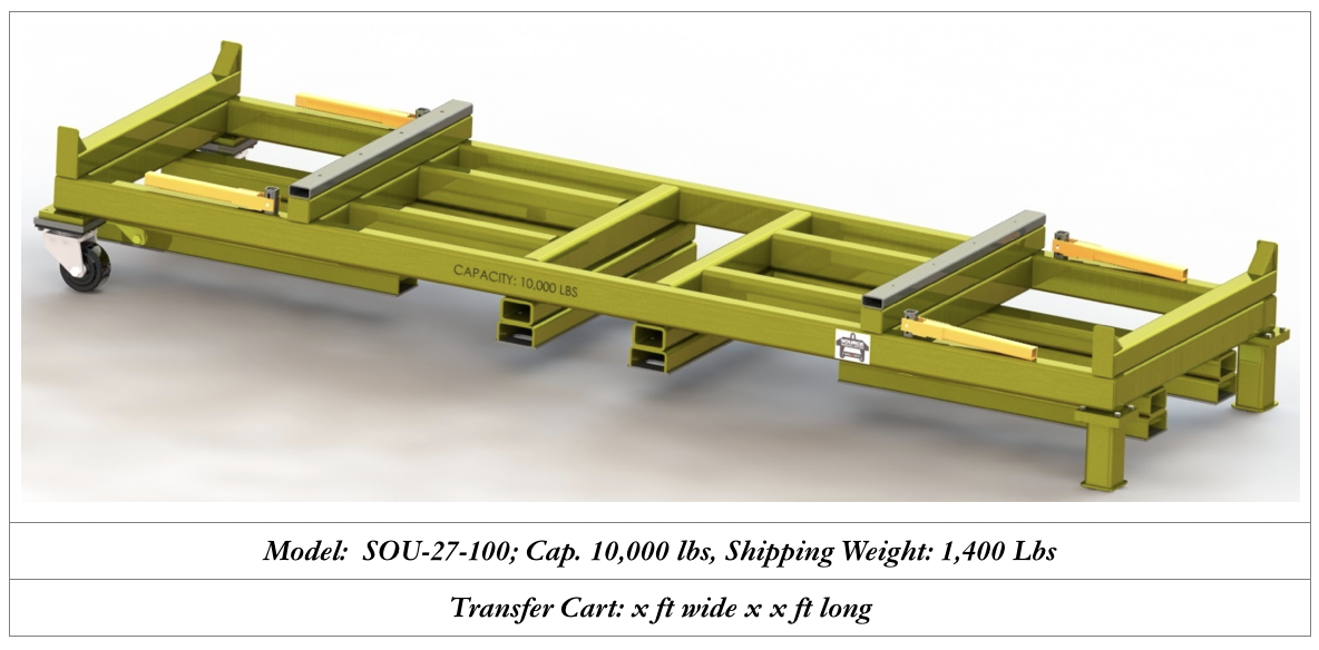 custom transfer cart manufacturing