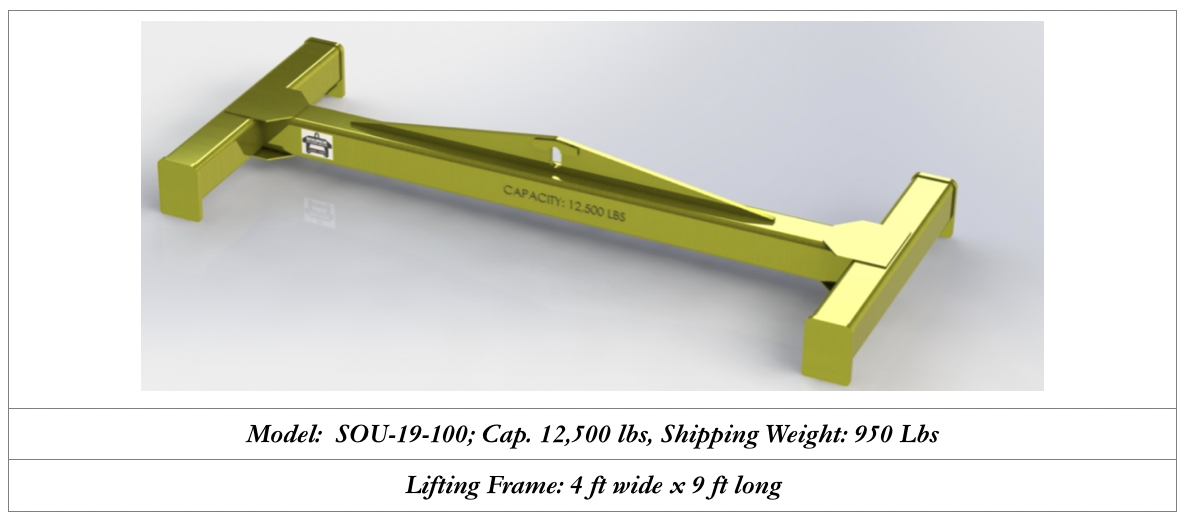 custom lifting frame design